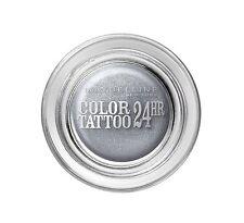 Maybelline  Eyestudio Color Tattoo 24hr Gel Cream Eyeshadow Eternal Silver 50