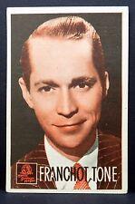 Franchot Tone - AK - Foto Autogramm-Karte - Photo Postcard ( G-3024