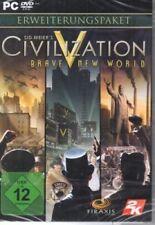 Sid meiers Civilization V-brave new world (add-on) - pc-germano-nuevo/ov