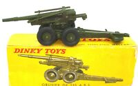 DINKY FRENCH NO. 819 155 MM CANON - NEAR MINT - BOXED - RARE  V