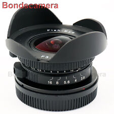 "8mm f/3.8 MFT mount 4/3"" Fisheye CCTV Lens for Micro 4/3 M4/3 E-PL7 M1 GH4 OM-D"
