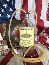 WW II Medic Plasma I.V. Bottle ...in movie Hacksaw Ridge!!!!!!!!!