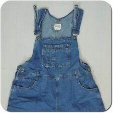 MODA INTL The London Jean Women's Vintage Jeans Short Overalls, size XL
