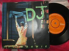David Bowie – DJ  RCA Victor – BOW 3 UK Vinyl 7inch Single picture sleeve