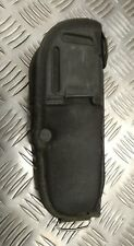 Británico Auténtico Militar Cordura Bianchi Negro Cartuchera 9mm Auto - Rh / LH