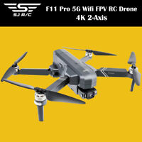SJRC F11 4K Pro GPS Drone 5G Wifi FPV 4K HD Camera 50X Zoom Brushless Quadcopter