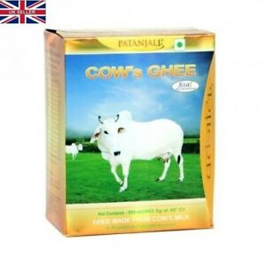 Swami Ramdev PatanjaliUK Pure Desi full of nutritive property Cows Ghee 1 Litre