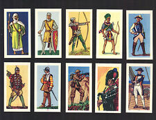 CIGARETTE/TRADE/CARDS. Barratt. WARRIORS THROUGH THE AGES. (Set of 25). (1962)