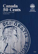 Whitman Canadian 50 Cent Coin Folder 1952-1967 Volume 4 #4012
