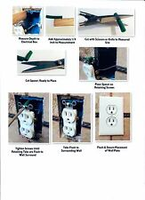 Electrical Spacer, Fix up 12 Outlets, Spacer, Outlet Repair, Electrical, Shim-