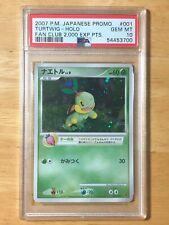 Turtwig Pokemon 2007 Holo Players Fan Club Promo Japanese 001/PPP PSA 10