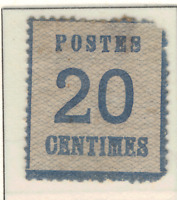France (German Occupation) Stamp Scott #N6, Mint Hinged, Original Gum, Faults