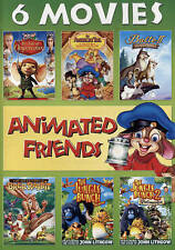 6 Movies Animated An American Tale, Balto II, Brer Rabbit, The Jungle Bunch 1 2