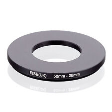 52mm-28mm 52mm to 28mm 52 - 28mm Step Down Ring Filter Adapter for Camera