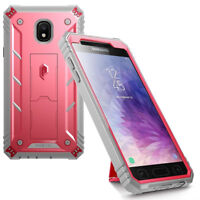 For Galaxy J7 / J7 Star Case [360° Protective] Premium Shockproof Cover Pink