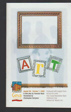 Art  Geva Theatre Program 2000 Yasmina Reza