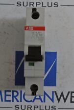 ABB S201 C10 ~230/400V 10A 1 Pole Circuit Breaker