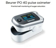Beurer PO 40 pulse oximeter oxymètre monitoring of oxygen saturation SpO2, PMI