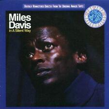 Miles Davis In a silent way (1969, CBS jazz masterpieces) [CD]