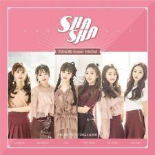 Sha Sha-[You&Me Forever ShaSha] Single Album CD+Booklet K-POP Sealed Korean Idol
