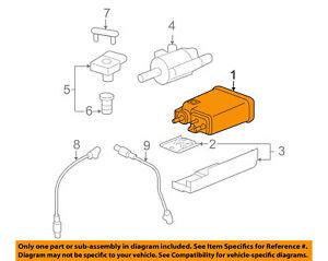 GM OEM-Vapor Canister Fuel Gas Emission 15137021