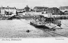More details for the ferry littlehampton  pc used 1907 valentines ref a100
