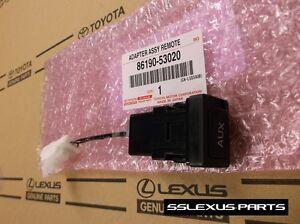 Lexus IS250 IS350 ISF (2006-2008) OEM Genuine AUX JACK INPUT RADIO ADAPTER