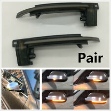 2X Dynamic Blinker Mirror Light Side LED Turn Signal Indicator A8 D3 8K