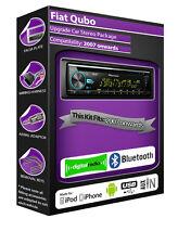 FIAT QUBO DAB Radio , Pioneer CD stéréo usb auxiliaire lecteur,