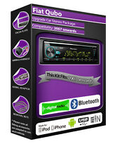 FIAT QUBO RADIO DAB,Pioneer Stereo CD USB AUX LETTORE, VIVAVOCE BLUETOOTH KIT