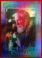 GAME OF THRONES Season 4 FOIL PARALLEL Card #49 - GRAND MAESTER PYCELLE