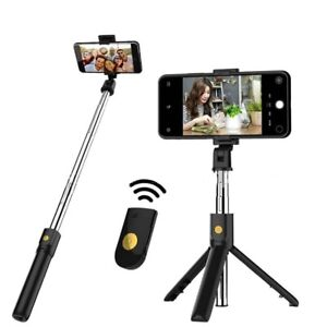 3 in 1 Wireless Bluetooth Selfie Stick for iphone/Android/Huawei Foldable Tripod