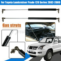 2x Bonnet Gas Struts Lift Support for Toyota Landcruiser Prado 120 Series