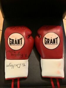 Original Model Grant professional fight Red/white Boxing gloves 8oz Punchers