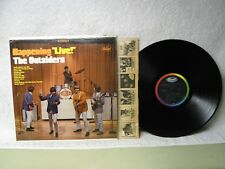 The Outsiders LP Happening Live Clean 1967 Orig! Time Won't Let Me