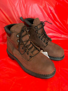 Red Wing Shoes Men's Waterproof Safety MetGuard Leather Work Boots 4433 Size 8 D