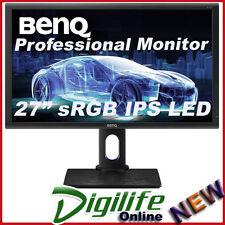 "BenQ PD2700Q 27"" WQHD sRGB Designer IPS LED Monitor 2560X1440, HDMI/DP/Speakers"