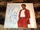 Billy Ocean Rare Authentic Hand Signed Love Zone Vinyl LP Record R&B Soul Singer