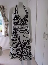 Bay Trading halterneck Dress size 10 holidays cruise special occasion RRP £34.99