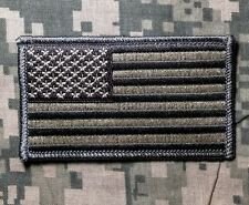 AMERICAN FLAG TACTICAL MORALE USA ACU LIGHT IRON ON PATCH