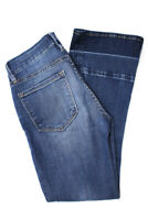 Frame Denim Womens Le Crop Mini Boot Cut Mid Rise Jeans Medium Wash Size 23