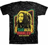 BOB MARLEY - Reggae Revolution - Tie Dye - T SHIRT S-M-L-XL-2XL New - Official