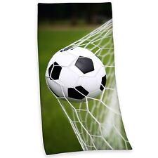 Football Serviette De Plage Enfants Serviette Bain 100% coton Neuf Gratuit P + P