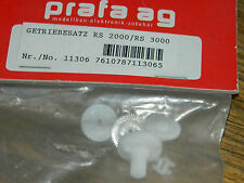 lot PRAFA AG 11306 getriebesatz PIGNON pinion GEAR Ritzel PIGNONE RS-2000-3000