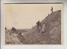 RARE CIVIL WAR ERA CDV - LARGEST CONFEDERATE GUN - BRADY'S ALBUM GALLERY No. 398