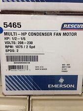 Emerson Rescue Motor, 1/2-1/5 HP, 208/230 volt Multi-HP Condenser Fan Motor 2spd