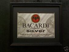 BACARDI SILVER   BEER SIGN    #59