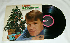 CHRISTMAS with GLEN CAMPBELL Record Album