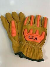 CIA  Premium Leather Cut, Impact, Abrasion Resistant Global Glove CIA3200 Medium
