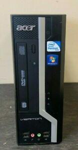 Acer Veriton X275 Intel Pentium PC Desktop Dual Core 60/50GHz 4GB RAM Windows 7